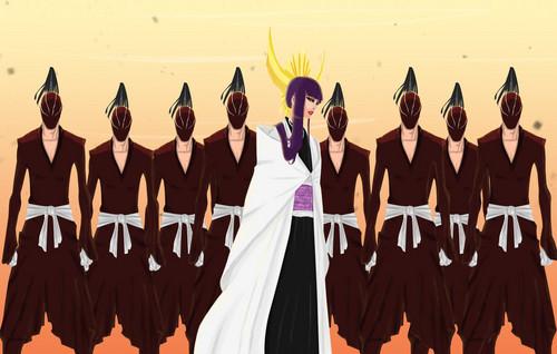 animé Bleach fond d'écran entitled *Senjumaru Shutara*