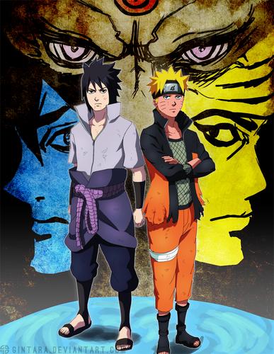 Naruto Uzumaki (shippuuden) fond d'écran containing animé called *The Successor*