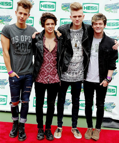 The Vamps wallpaper possibly containing long trousers, a pantleg, and a well dressed person titled               The Vamps