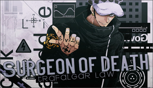 One Piece kertas dinding possibly with Anime entitled *Trafalgar Law*
