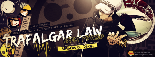 one piece wallpaper with anime called *Trafalgar Law*