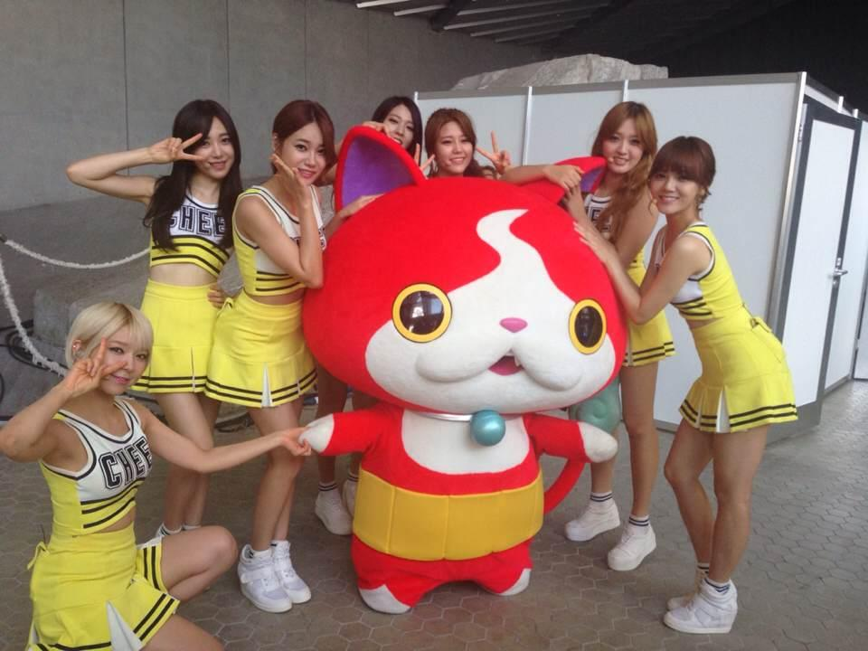140817 AOA at A-Nation Giappone Festival