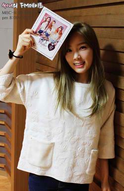 140919 Taeyeon @ Sunny's FM petsa