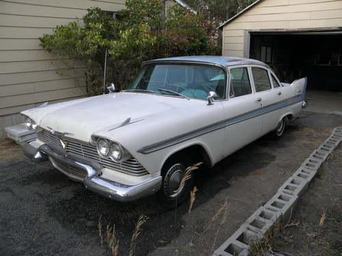 Nocturnal Mirage fond d'écran possibly containing a plage wagon and a sedan entitled 1959 Plymouth Belvedere