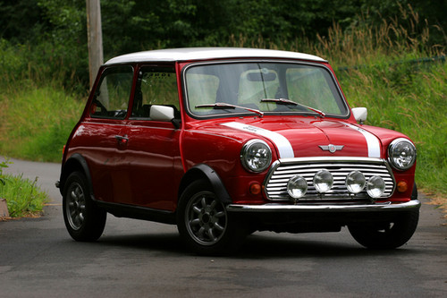 Nocturnal Mirage वॉलपेपर probably with a sedan entitled 1965 Mini Cooper