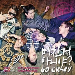 2PM group teaser image for ''Go Crazy''