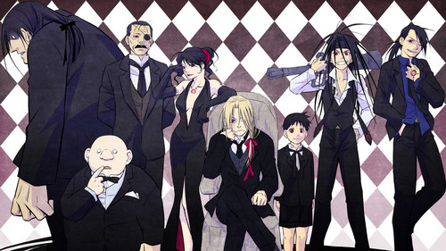 Full Metal Alchemist achtergrond called 7 Deadly Sins