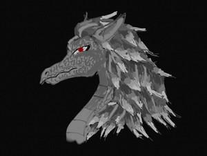 A Dragon I drew. I dunno.