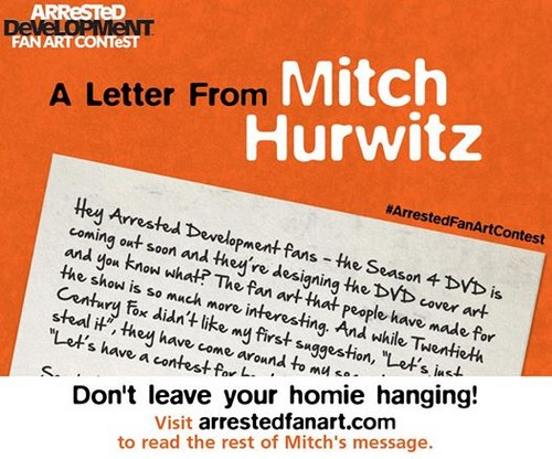 Arrested Development wallpaper called A Letter From Mitch Hurwitz