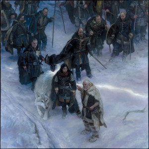 A Song Of Ice And fuego - 2015 Calendar - Nights Watch