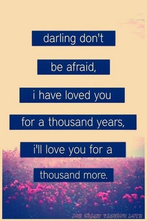 A Thousand Years(from BD 1 and 2)