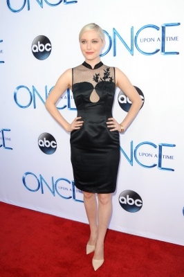 "Georgina Haig 壁纸 called ABC's ""Once Upon A Time Season 4"" Red Carpet Premiere"