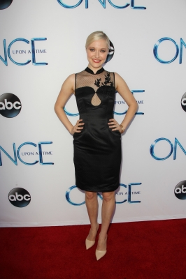 "Georgina Haig wallpaper titled ABC's ""Once Upon A Time Season 4"" Red Carpet Premiere"