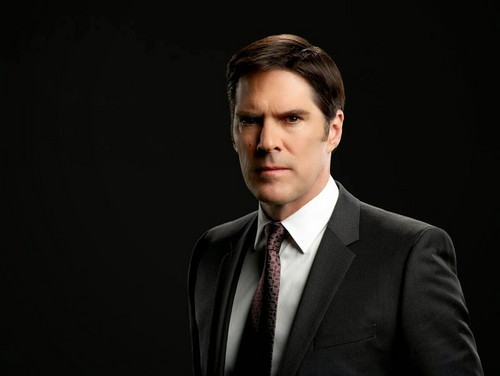 Criminal Minds wallpaper containing a business suit, a suit, and a three piece suit titled Aaron Hotchner