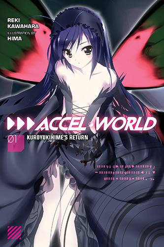 Accel World Volume 1 English - light novels Photo (37598516