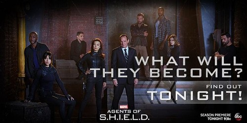 Agents of S.H.I.E.L.D. wallpaper probably containing a show, concerto titled Agents of S.H.I.E.L.D. - Season 2