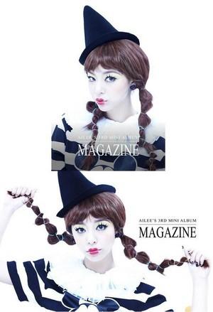 "Ailee 3rd mini album ""Magazine"""