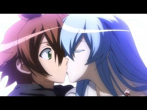 Akame ga kill kissing