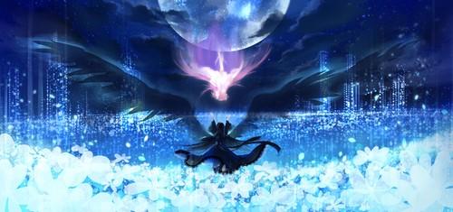 Mahou Shoujo Madoka Magica hình nền called Akemi Homura and Madokami