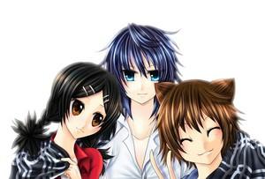 Akira Tanaka, Kaori Tanaka, and Natsuno Yuuki | Shiki