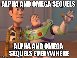 Alpha and Omega Sequels