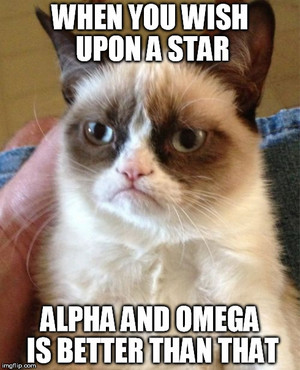 Alpha and Omega is better