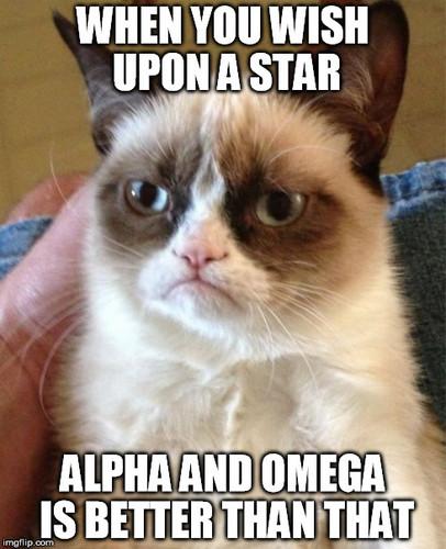 랜덤 바탕화면 titled Alpha and Omega is better