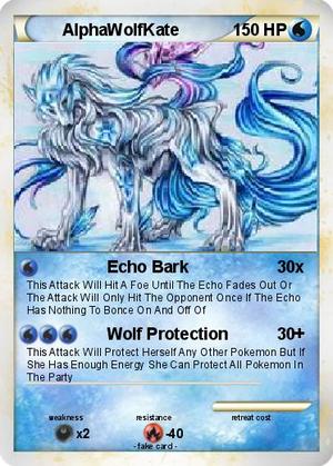 AlphaWolfKate's Pokemon Card