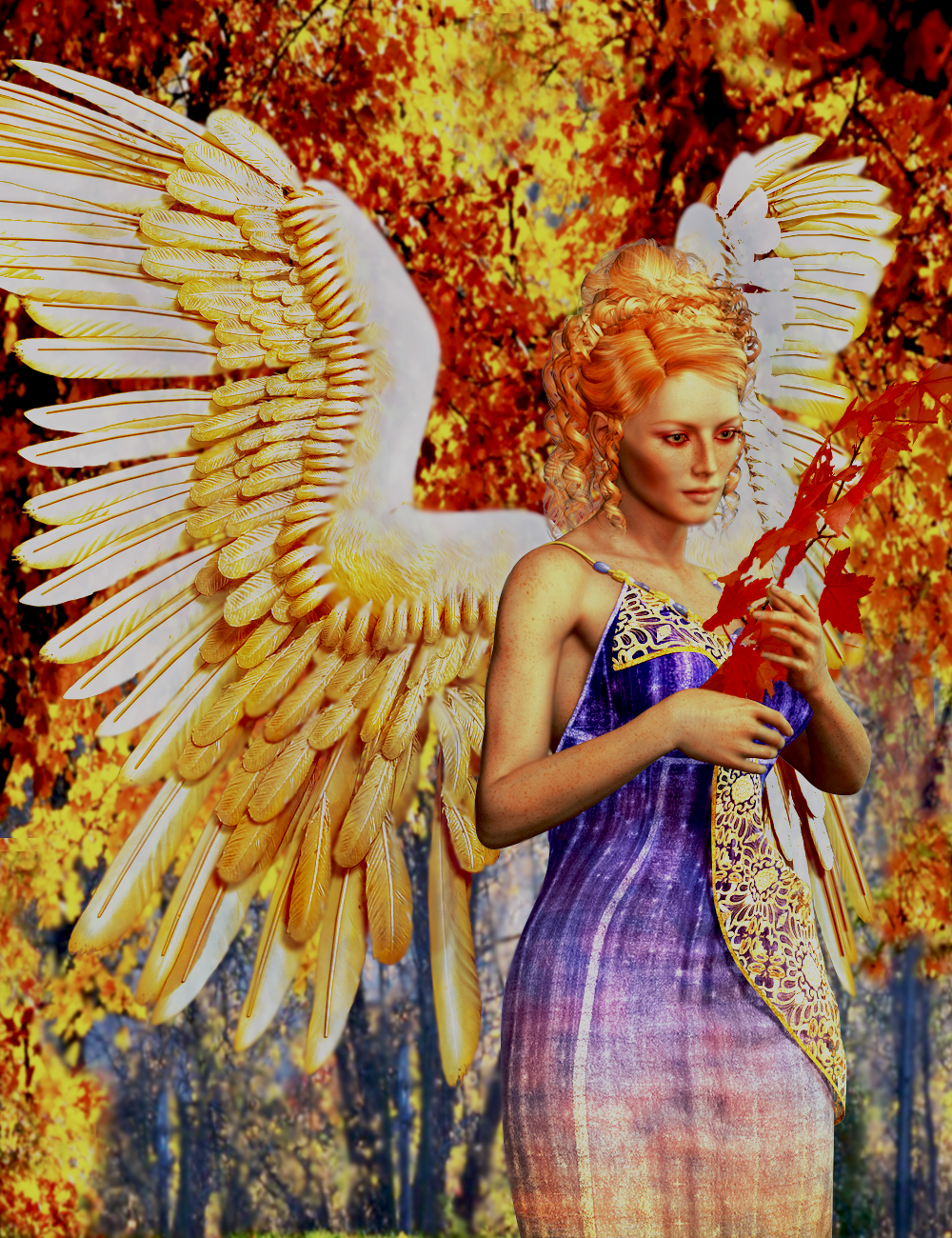 Angel of October