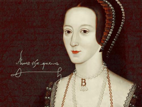 Women in History वॉलपेपर titled Anne Boleyn