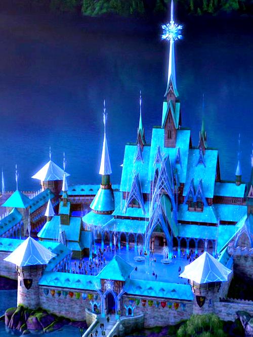 Arendelle kastil, castle