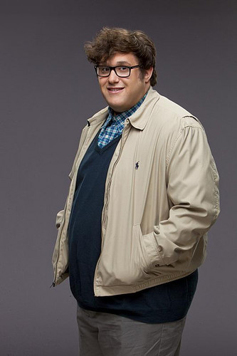Scorpion (CBS) wallpaper probably containing an outerwear, a bomber jacket, and a box coat entitled Ari Stidham as Sylvester Dodd
