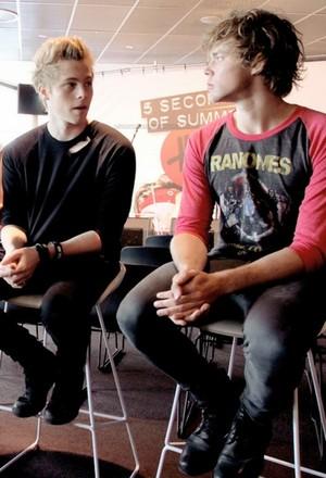 Ash and Luke