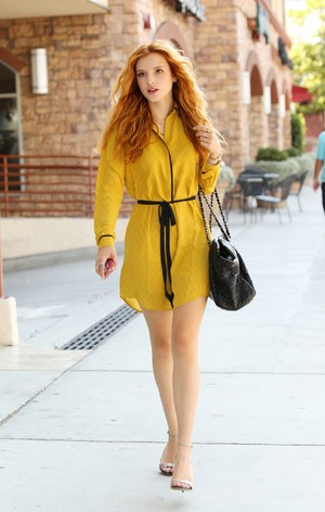 August 19th Bella heading to a meeting x