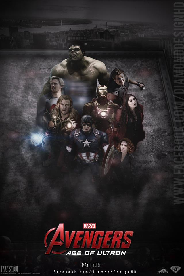 ultron images avengers age of ultron fan made poster hd wallpaper
