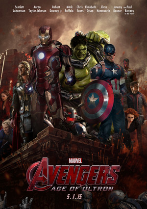 Avengers age of Ultron™ poster