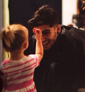 Aww!!! Lux and Zayn