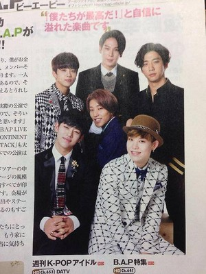 B.A.P for 10 Asia Magazine 일본 Ver