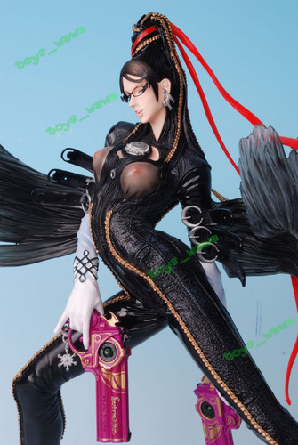 Bayonetta wallpaper probably with a hip boot entitled B16 Painted Bayonetta Figure
