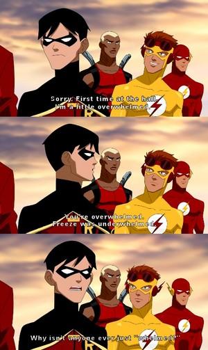 Bahaha, Robin.