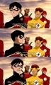 Bahaha, Robin. - young-justice photo