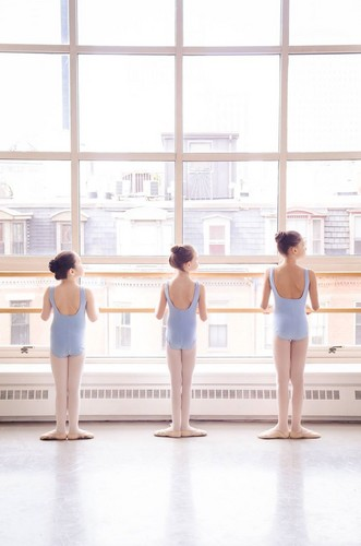 Ballet wallpaper possibly containing a water titled Ballet Class