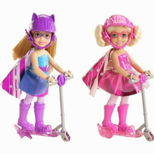 Barbie films achtergrond called Barbie in Princess Power Chelsea Dolls