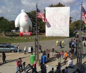 Baymax at Maker Faire