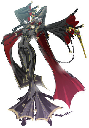 Bayonetta 2 // Concept Art