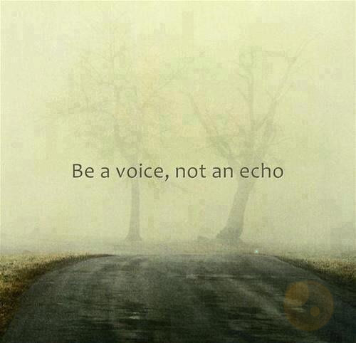 Quotes wallpaper called Be a Voice