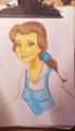 Belle-PrismaColor Pencils - disney-princess fan art