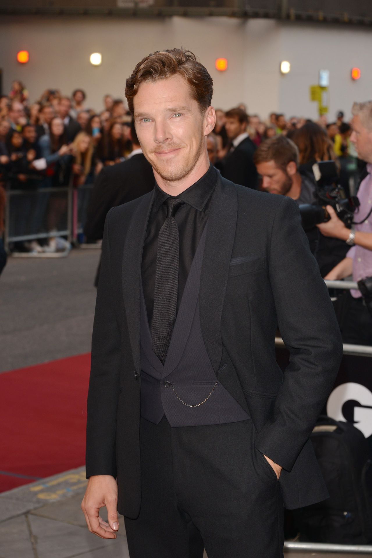 Benedict - GQ Awards Red Carpet