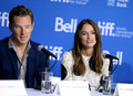 Benedict and Keira - The Imitation Game Panel - benedict-cumberbatch photo