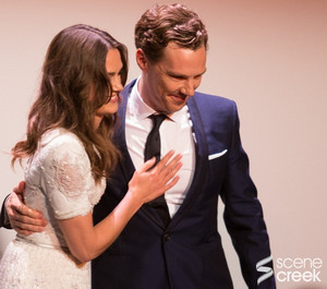 Benedict and Keira at TIFF 2014